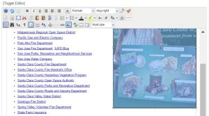 image floating to the right of text, in JCE editor